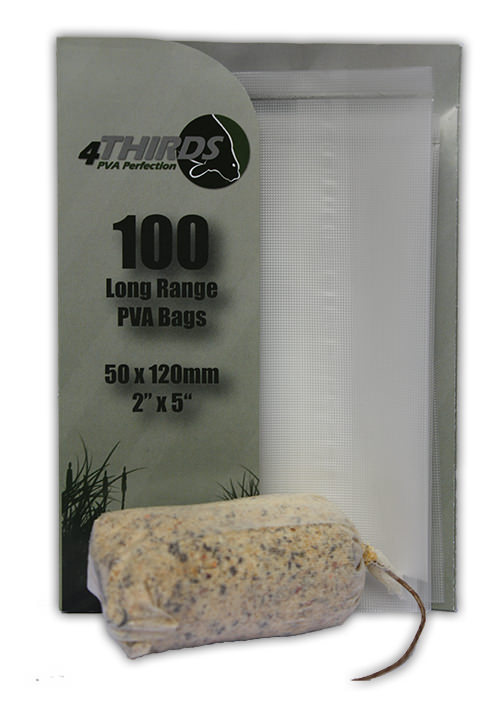 TEXTURED Longer Range PVA Bags x 100