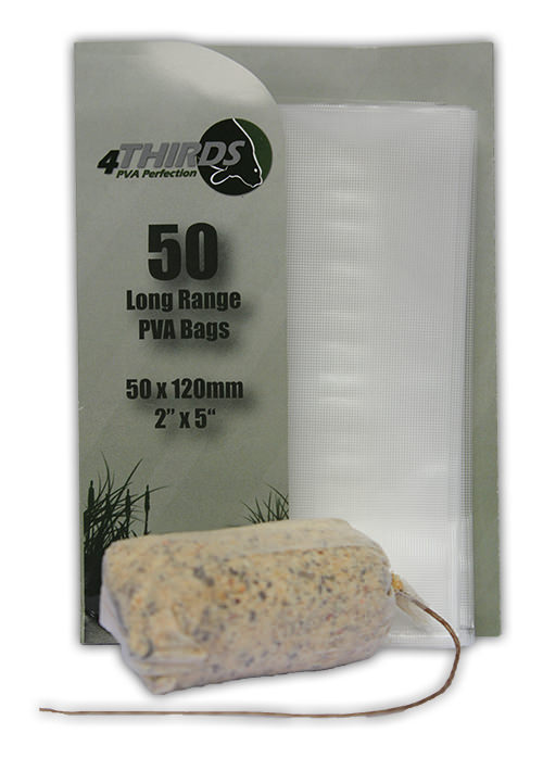 TEXTURED Longer Range PVA Bags x 50