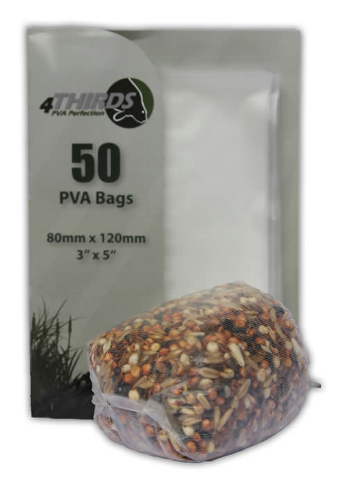 TEXTURED PVA Bags x 50