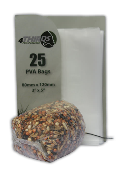 TEXTURED PVA Bags x 25